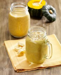 Sweet Pumpkin Milky Smoothie